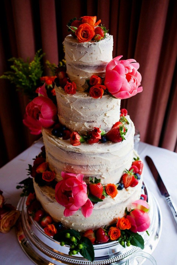 Cake Stacey And Akosa S Fun Colourful Isle Of Wight Wedding