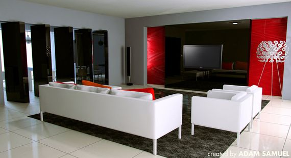 Black White And Grey Living Room On Amazing Ideas For Decorating Living Room  With Red And Part 53