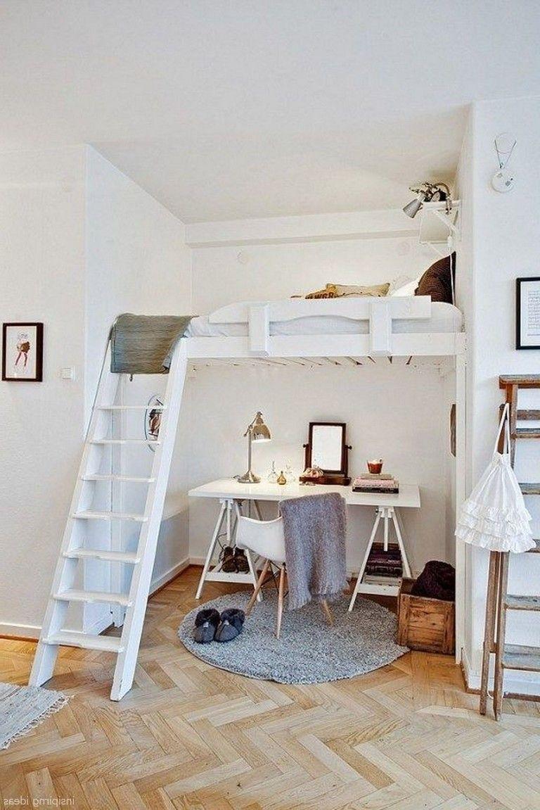 65 Comfortable Small Bedroom Decorating Ideas Small Loft