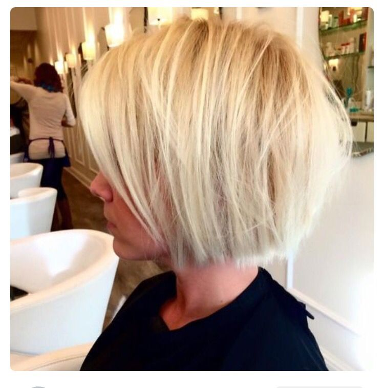 Luxury Blunt Layered Bob Hairstyles
