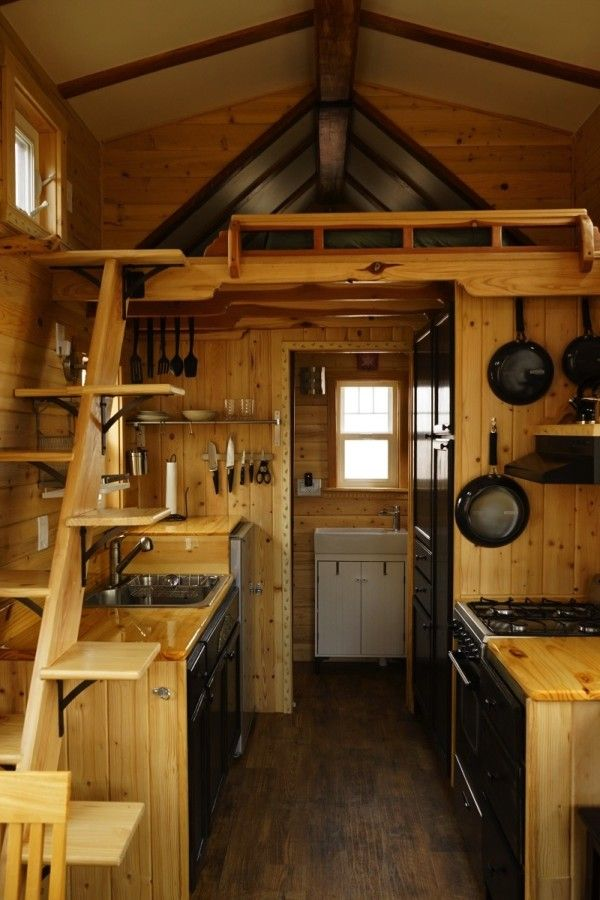 Man Builds Craftsman style Tiny House Midsummer House