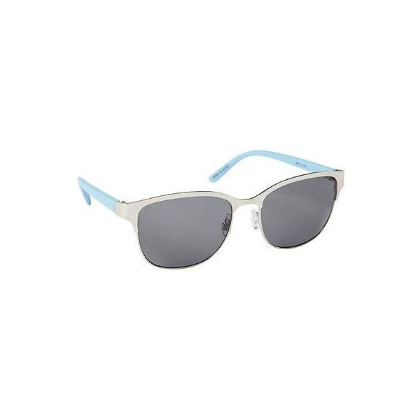 discount sunglasses  Gap Women Colorblock Round Sunglasses ($15) 鉂� liked on Polyvore ...