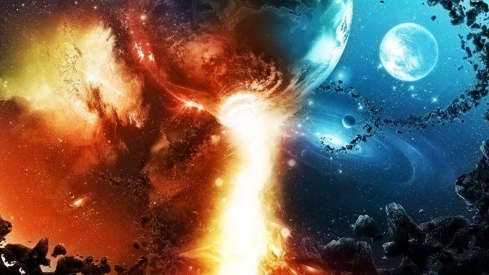 Oboi Na Rabochij Stol Kosmos Kosmos Fantastika Planety Nebo