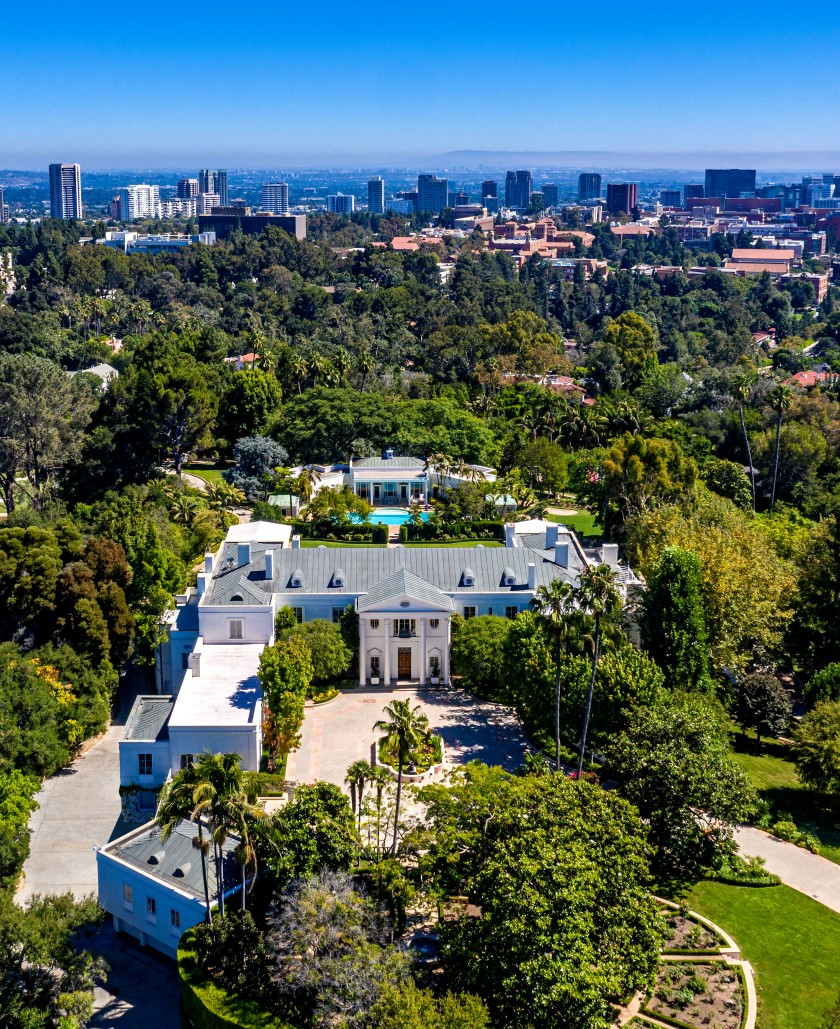 BelAir estate lists for the highest price in America