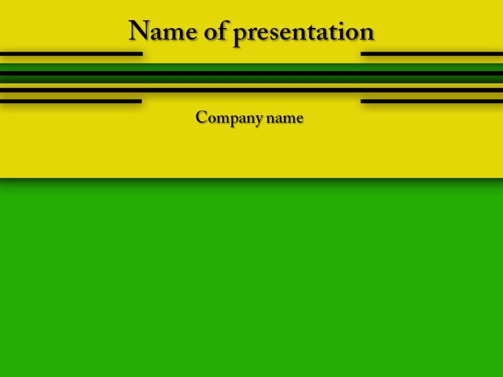 Yellow green powerpoint template powerpoint templates pinterest yellow green powerpoint template alramifo Images