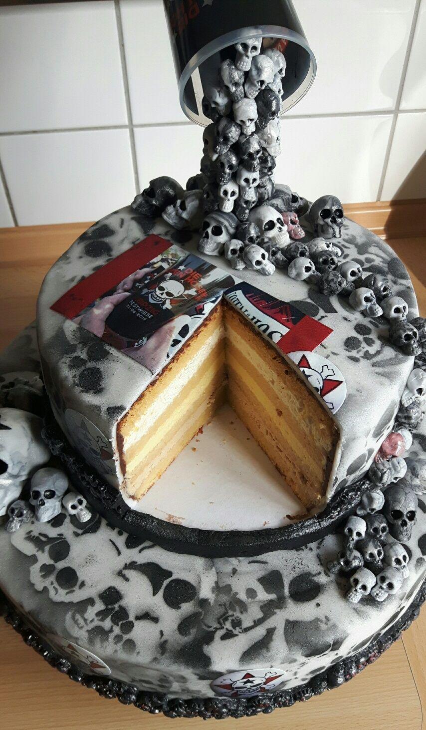 "Die Toten Hosen"" Torte Baking Pinterest"