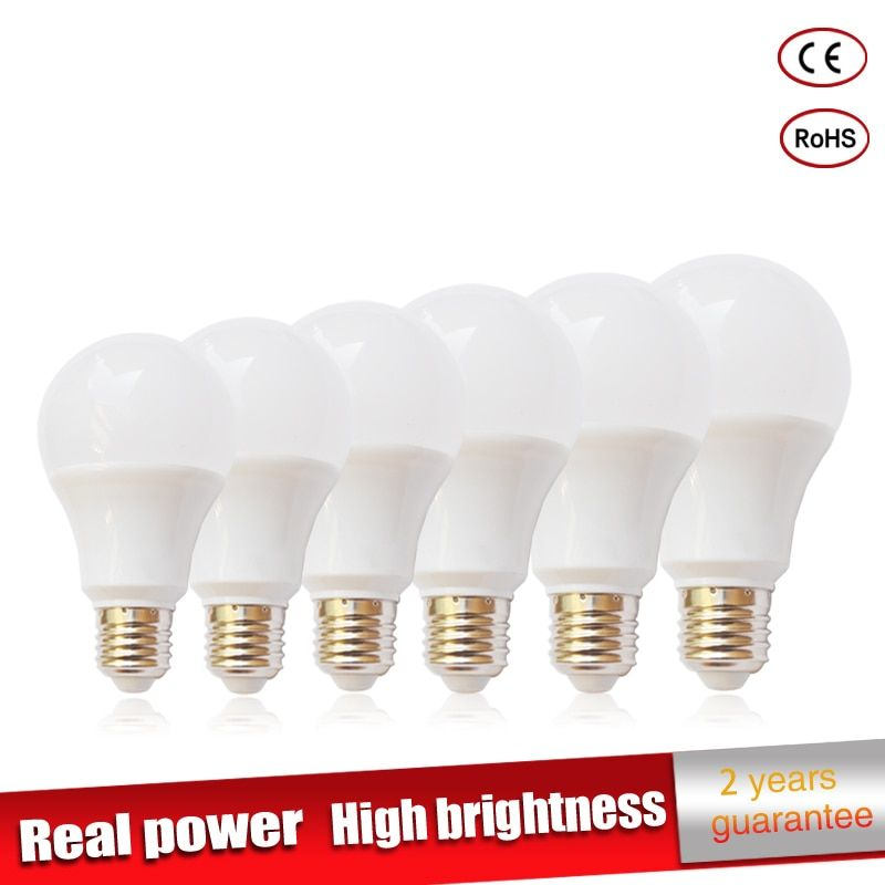 Universe Of Goods Buy 5pcs Lot Real Power Led Lamp E27 220v Led Light 3w 5w 7w 9w 10w 12w 15w Luz Ampoule Lampadas De Bombillas Led Bulb Led Bulb