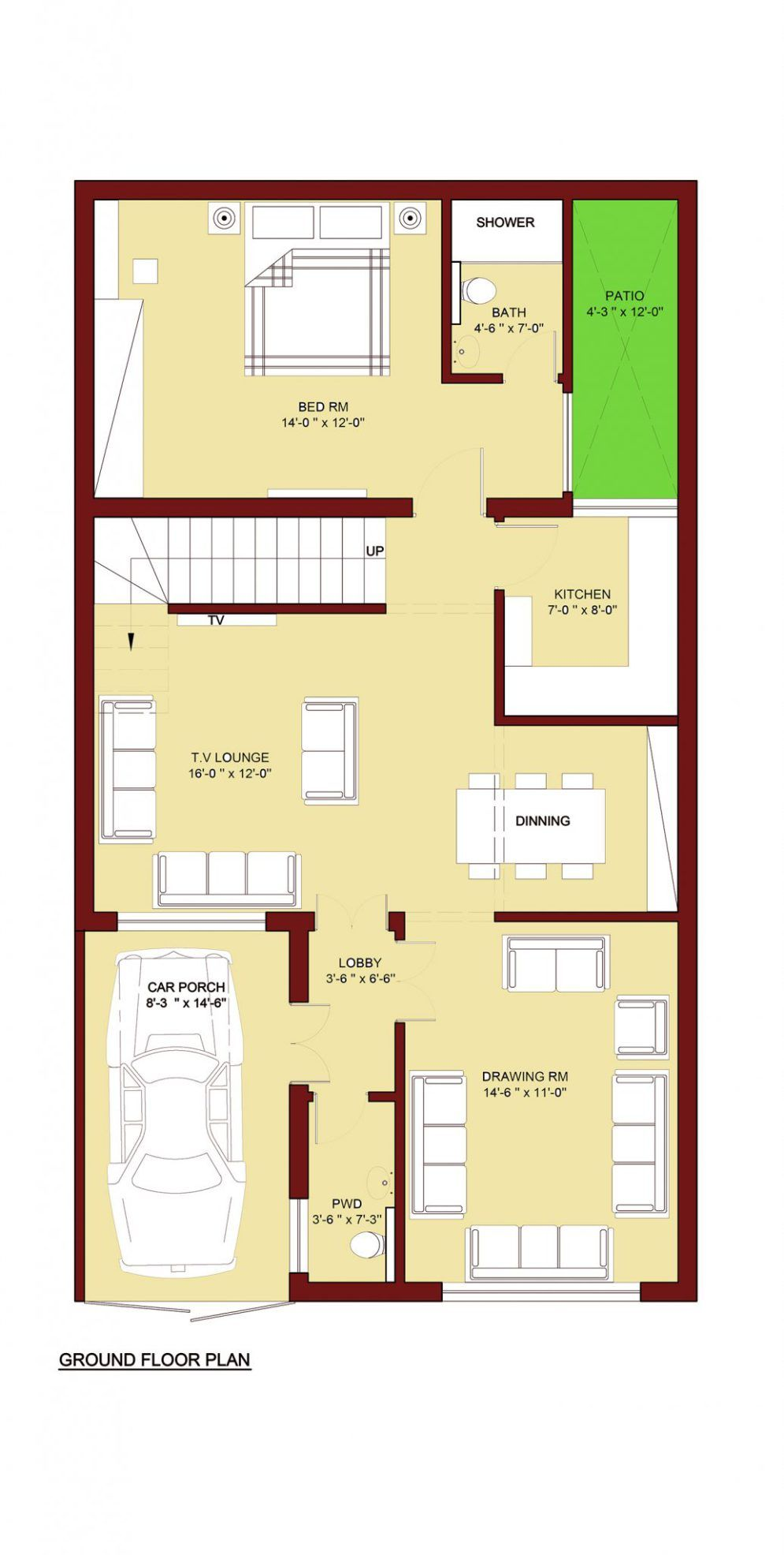 House Floor Plan Architecture Pinterest