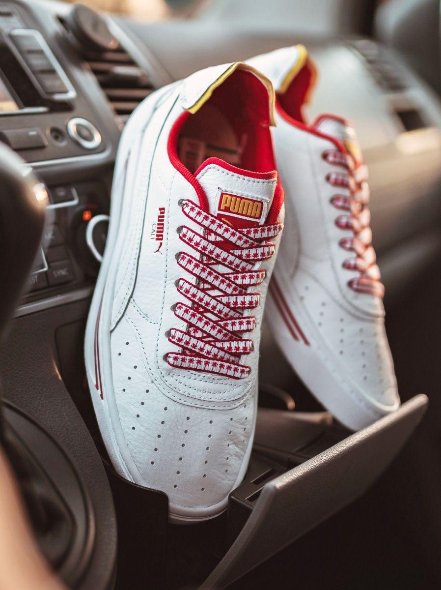 puma femme chaussure tennis rouge