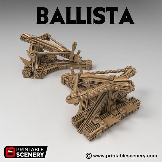 Time Warp - Ballista 28mm 32mm Wargaming Terrain D&D, DnD, Pathfinder, SW Legion, Warhammer, 40k #wargamingterrain