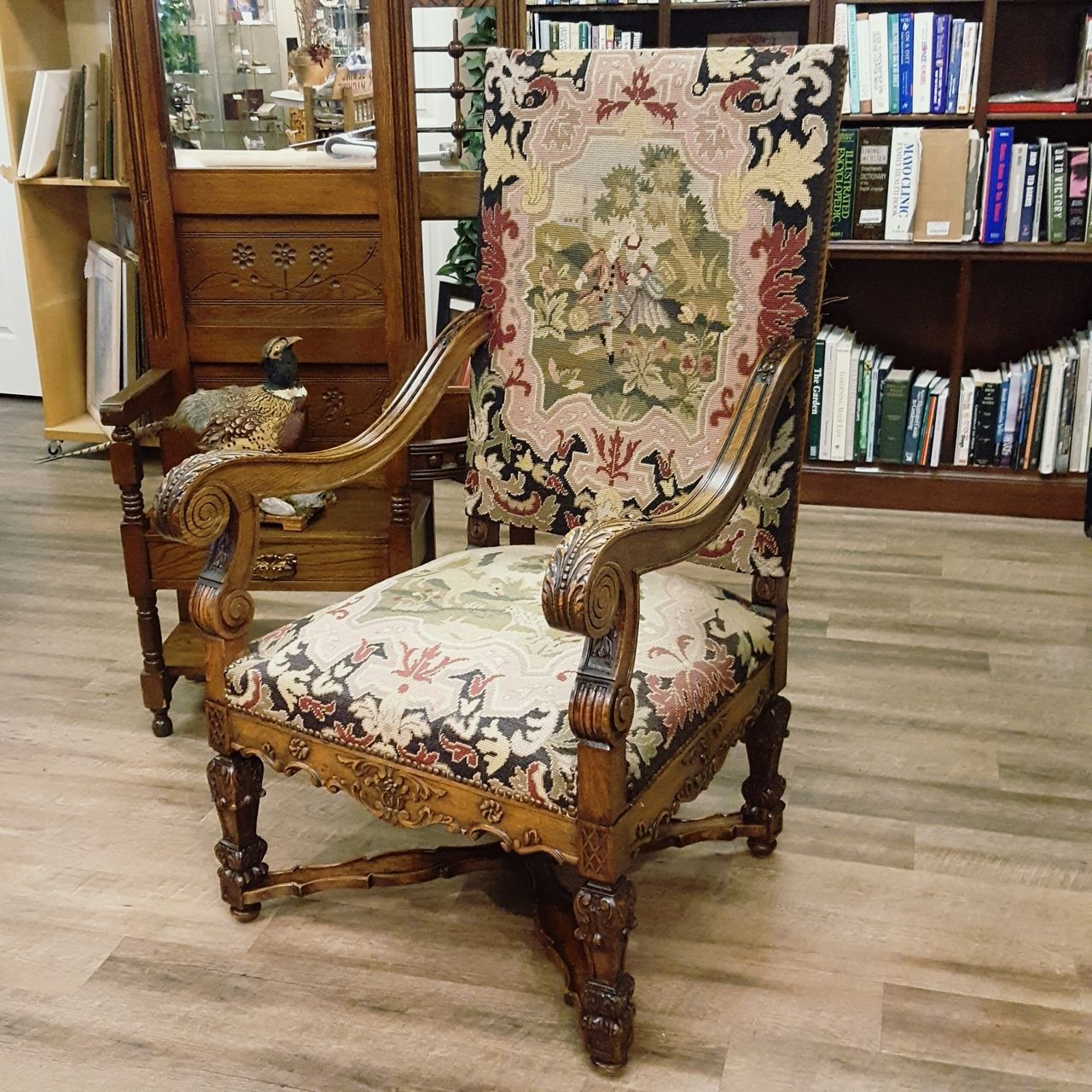 Antique Louis XIV Style Chair