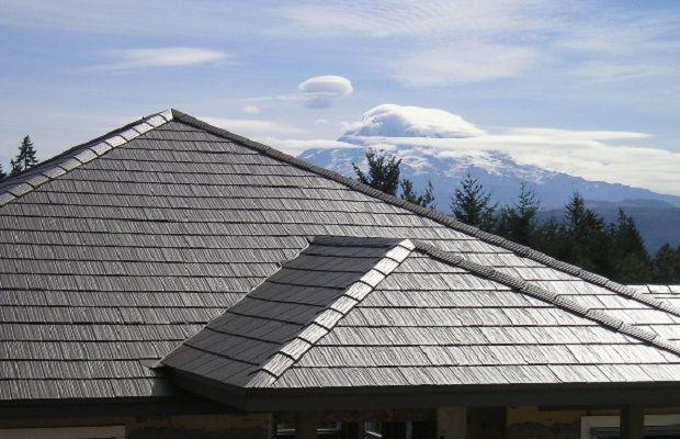 Metal Roofs Wind Resistant Metal Shingle Roof Metal Roof Solar Roof