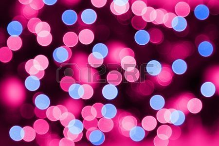 Background Of Blurred Red Christmas Lights