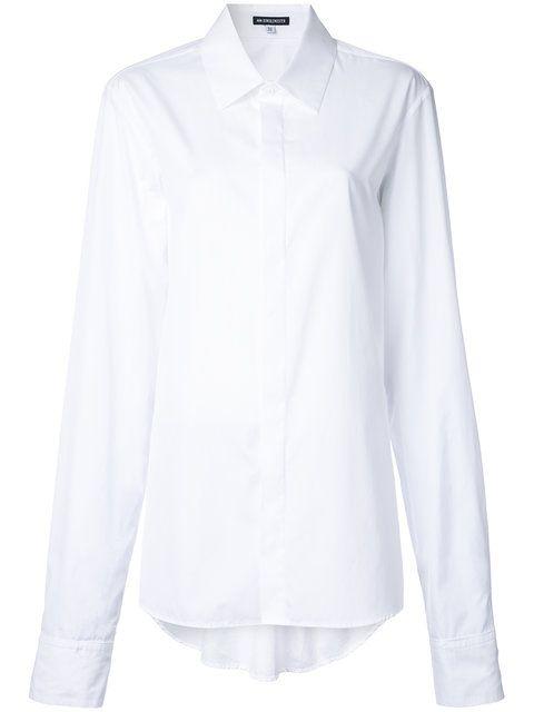 ANN DEMEULEMEESTER Classic Shirt. #anndemeulemeester #cloth #shirt