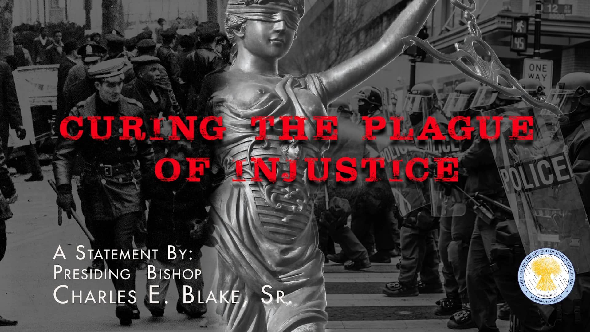 Cogic Bceb Curing The Plague Of Injustice W Music B Sign
