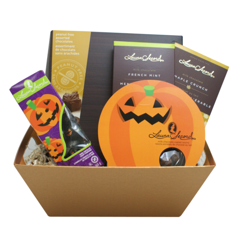 Peanut Free Halloween Gift Basket 2 Products Laura