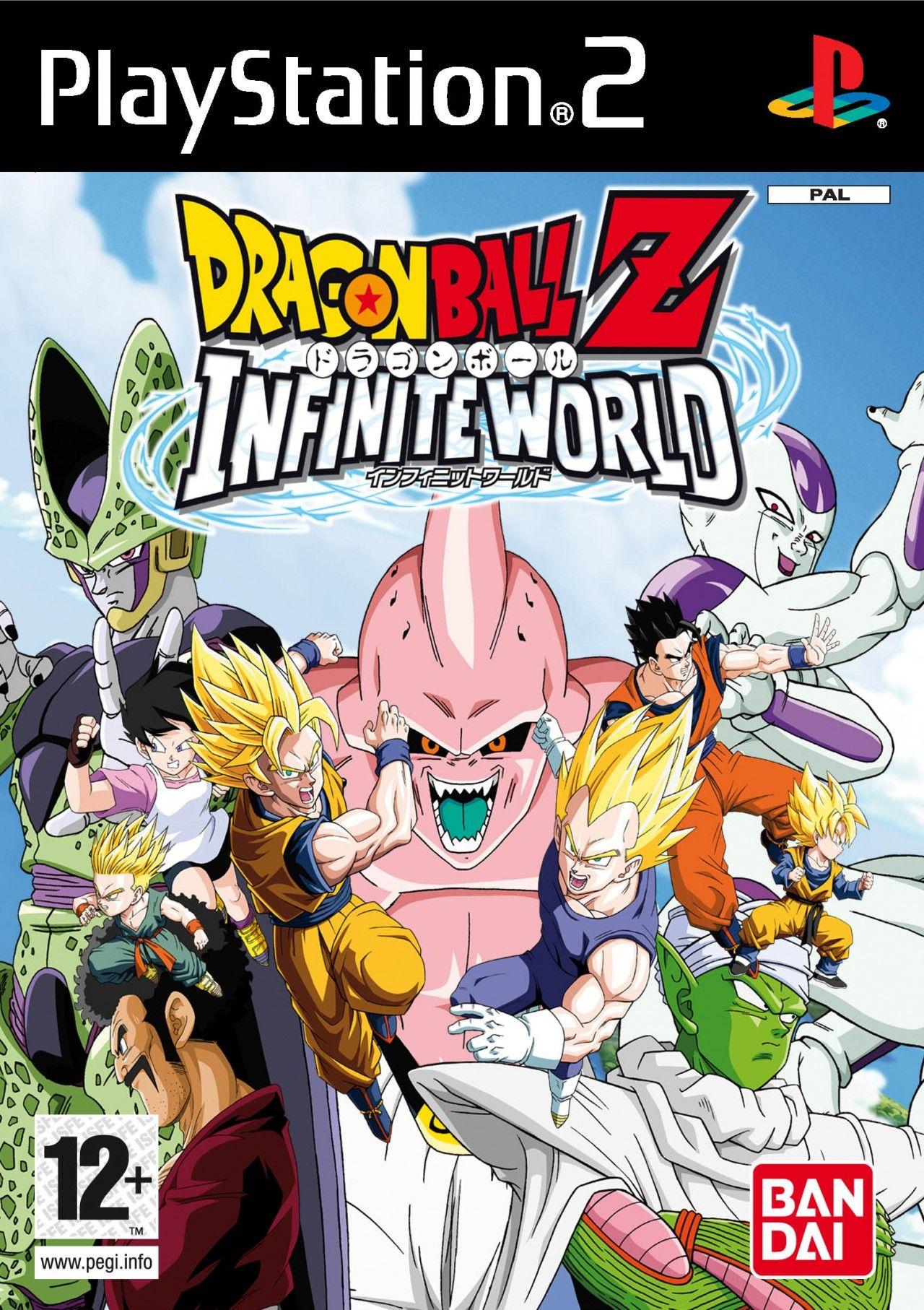 Dragon Ball Z Infinite World Personajes De Dragon Ball Videojuegos Clásicos Descargar Juegos Para Pc
