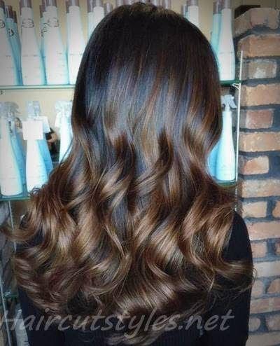 Black Brown Hair With Chocolate Highlights Hair Highlights  25 Sexy Black Hair W…