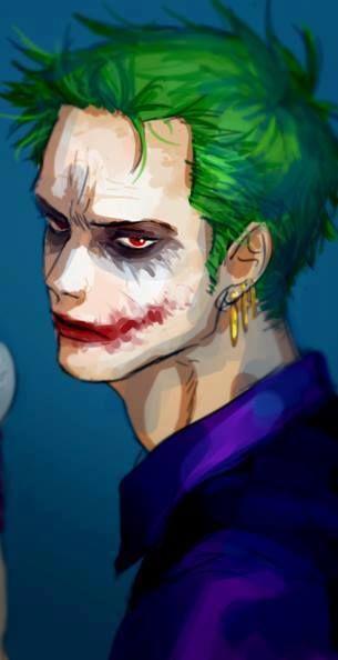 Zoro X Joker Anime Crossover