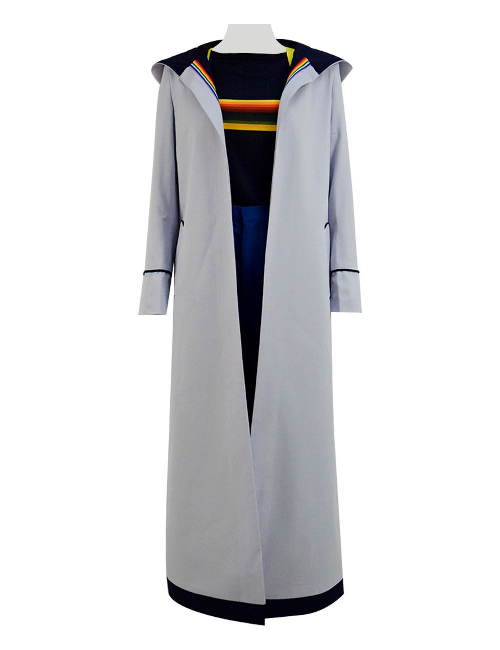 13th female Doctor who Cosplay Costume Coat 13th Doctor Jodie Cosplay Costume HH