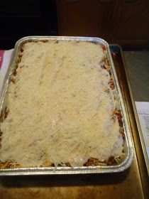 The Curious Country Cook: : Baked Spaghetti Dinner