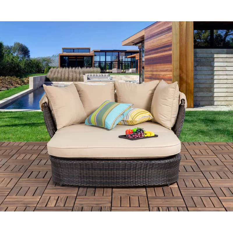 Patio Daybed Google Search In 2020 Patio Daybed Outdoor