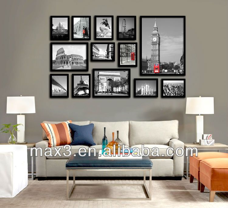 Wall Collage Picture Frames,Large Wall Pictures,Interior Wall ...