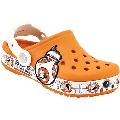 ee73d3d090412b Crocs Star Wars Hero Water Sandals - Boys Orange White Grey