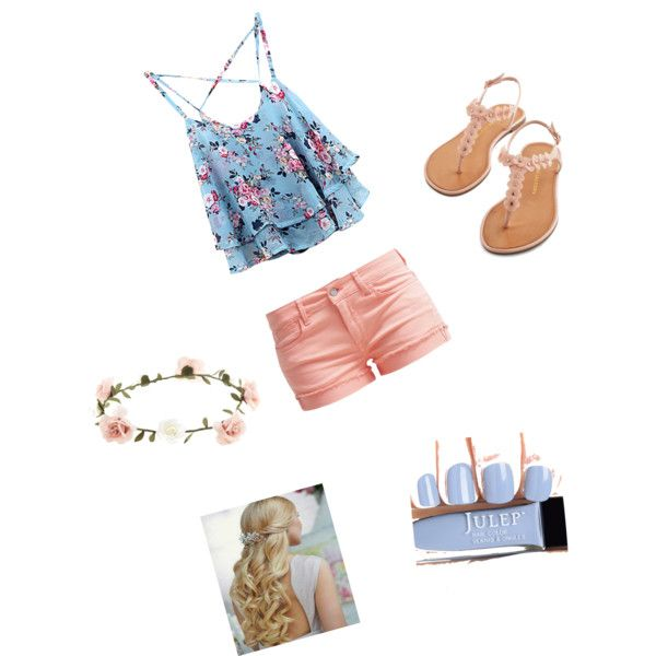 A fashion look from March 2015 featuring Le Temps Des Cerises shorts and Accessorize hair accessories. Browse and shop related looks.