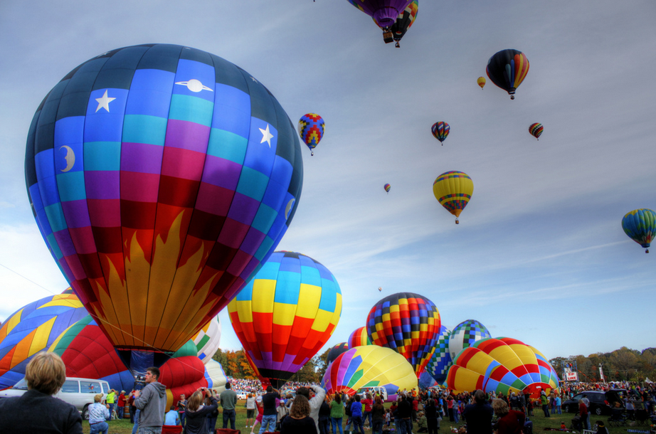The Carolina Balloon Festival! The most wondrous and