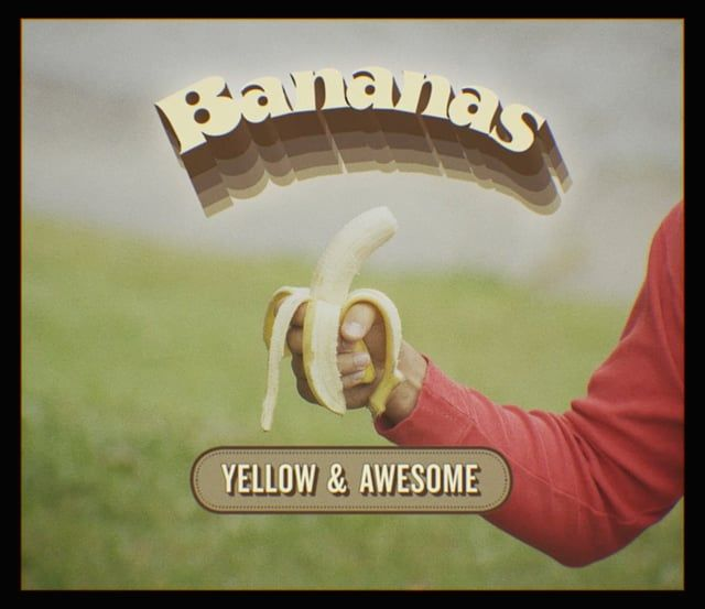 Bananas are awesome. That's why I made this video. Enjoy.