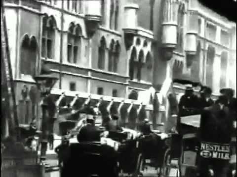 ▶ 1903 London. Thomas Edison Film Footage