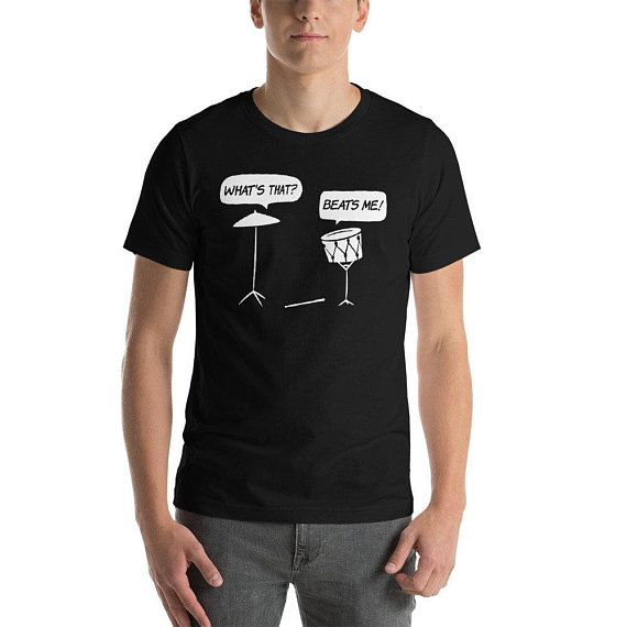 9680540a05a7 Funny Drums T-Shirt Drummer Shirt Music Drum Band Tshirt Gift Rock Drummer  Percussion Shirt What s T