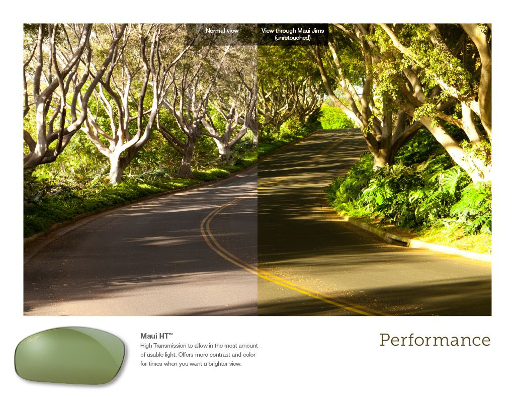 9309d9651a6 Before and After HT lens tint #MauiJim #Sunglasses | Maui Jim ...