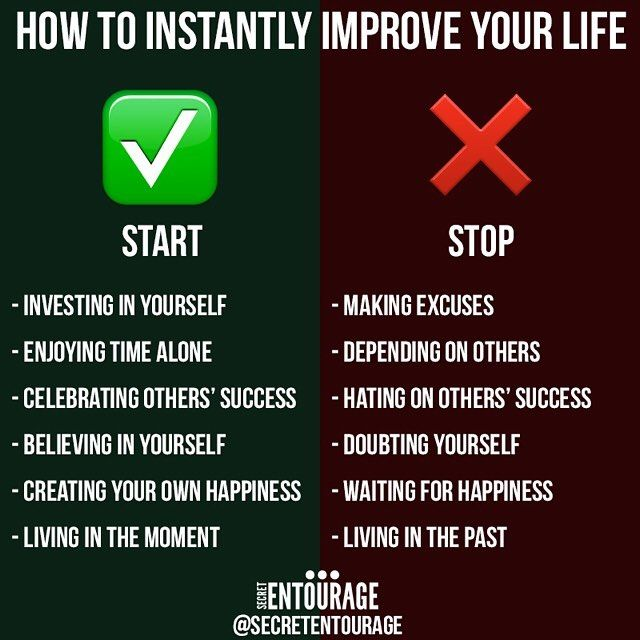 People ask me all day long what things they can do to improve their lives. Here's a short list to help get you started. http://secretentourage.com has thousands of free articles to help you. #motivation #entrepreneur #smallbusiness #secretentourage #teamentourage #success #motivation #success #quotes #inspiration