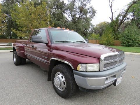 2001 Dodge 3500 Used Cars Chico Ca