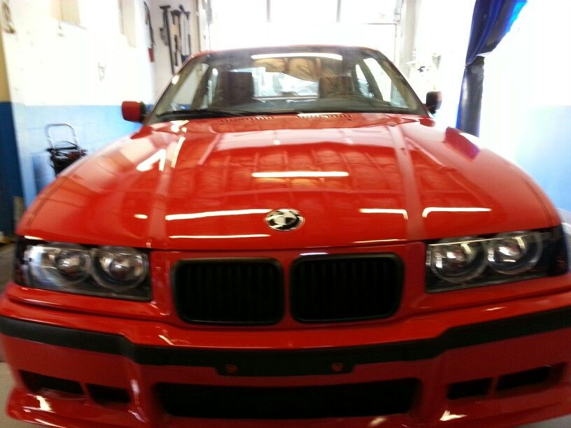This Older 1993 Bmw Is Being Restored In Frederick Maryland Bmw 318is Detailed By Brillante Auto Service Off East St In Downtown Frederic Bmw Bmw S Luxury Cars