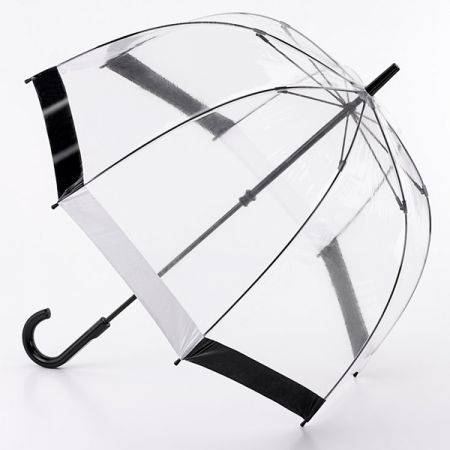 Fulton Birdcage Clear Umbrella Black One Size #clearumbrella Fulton Birdcage Clear Umbrella #clearumbrella Fulton Birdcage Clear Umbrella Black One Size #clearumbrella Fulton Birdcage Clear Umbrella #clearumbrella
