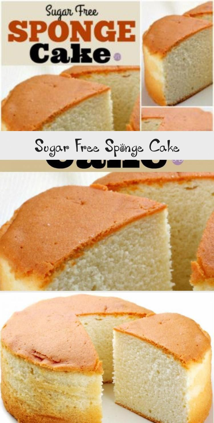 Wow Sponge Cake Made Sugar Free Great Cake Recipe For