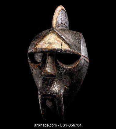 Masque Kwele, Gabon