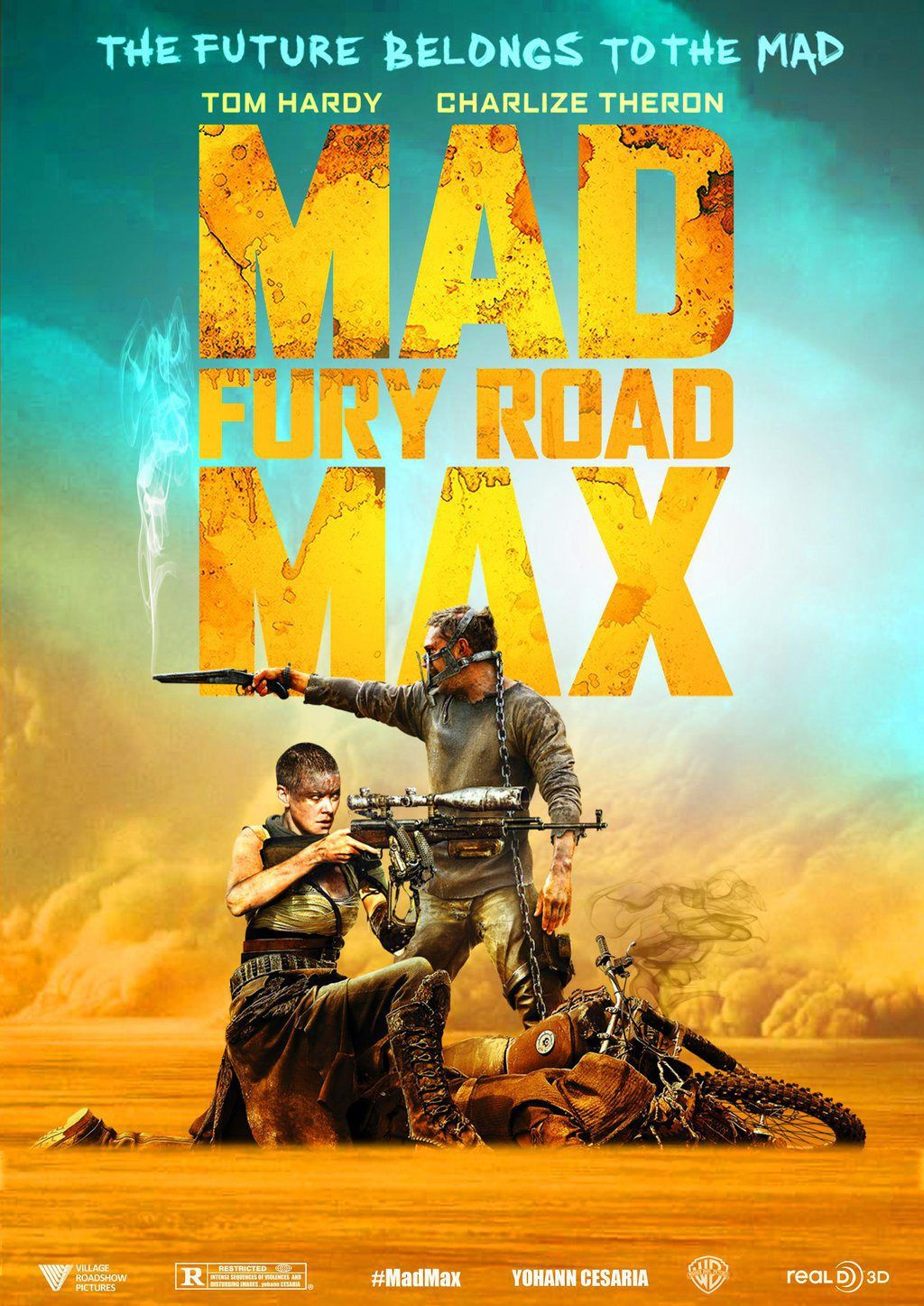 mad max fury road 2015 hindi dubbed bluray movie mad max