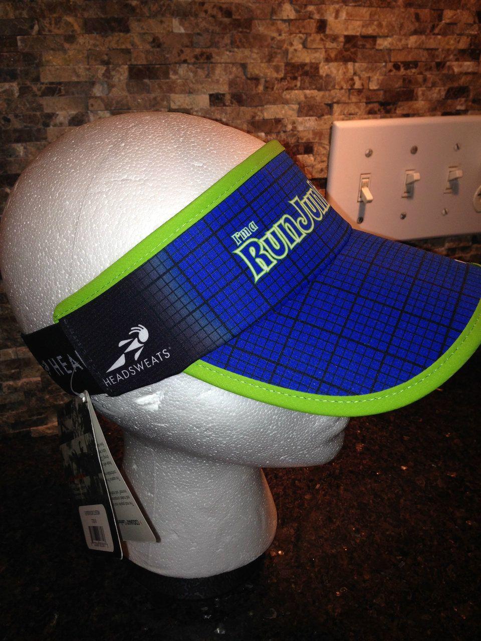 Headsweats® RunJunkEes™ Visor - RunJunkEes $23.99