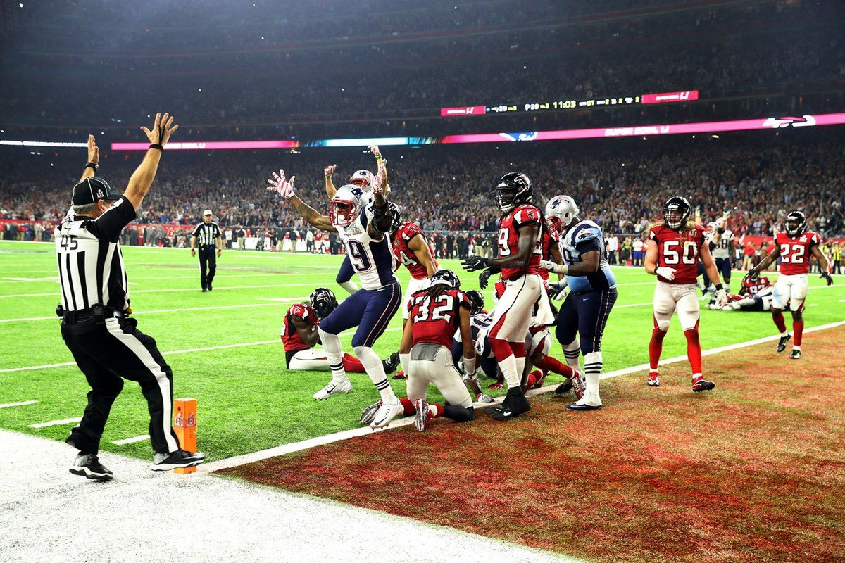 And Thats The Game New England Patriots Patriots Football Nfl Championships