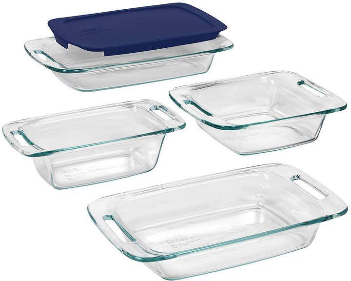 Pyrex Easy Grab 5pc. Bake Set Glass bakeware set