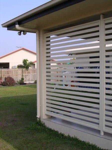 Custom Made Aluminium Privacy Screen Panels Brisbane