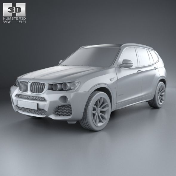 BMW X3 M Sport Package (F25) 2014 Sport, BMW, Package