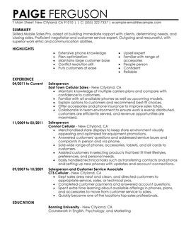 Professional Sales Resume Examples Mobile Sales Pro  Employment  Pinterest  Resume Examples