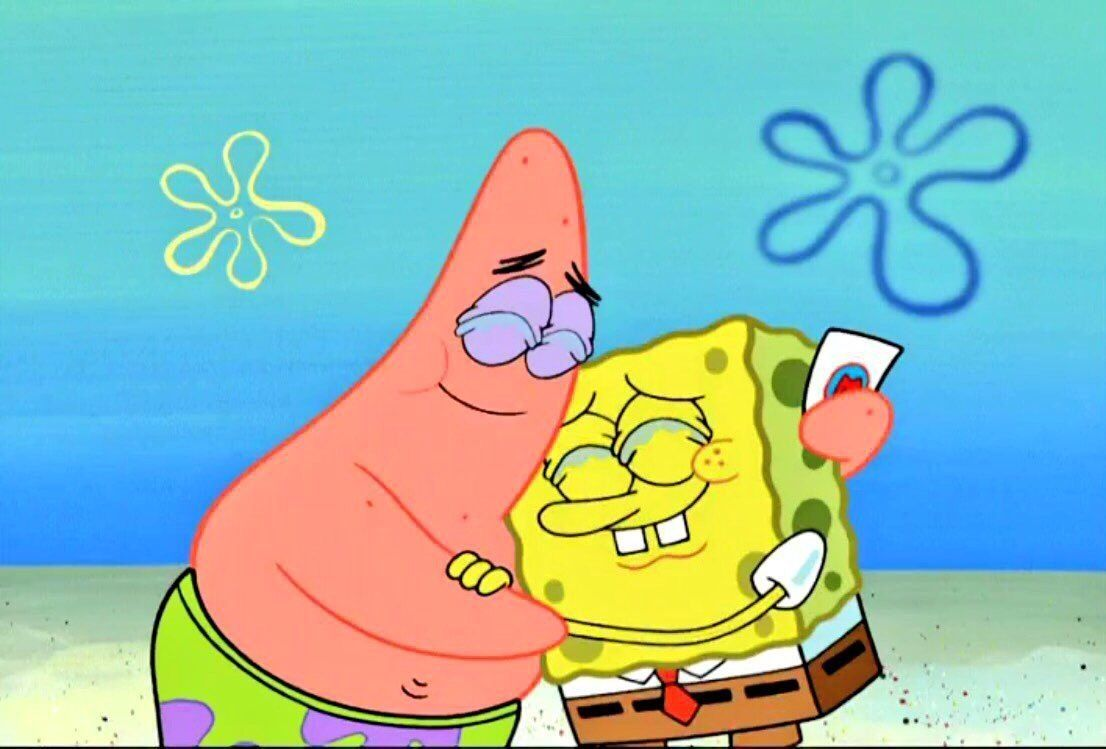 Spongebob And Patrick In 2019 Spongebob Squarepants with