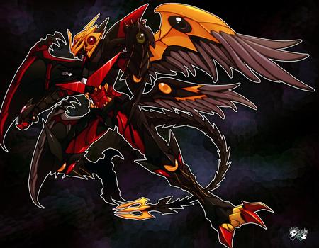 Resultado de imagem para black dragon balance breaker   anime style