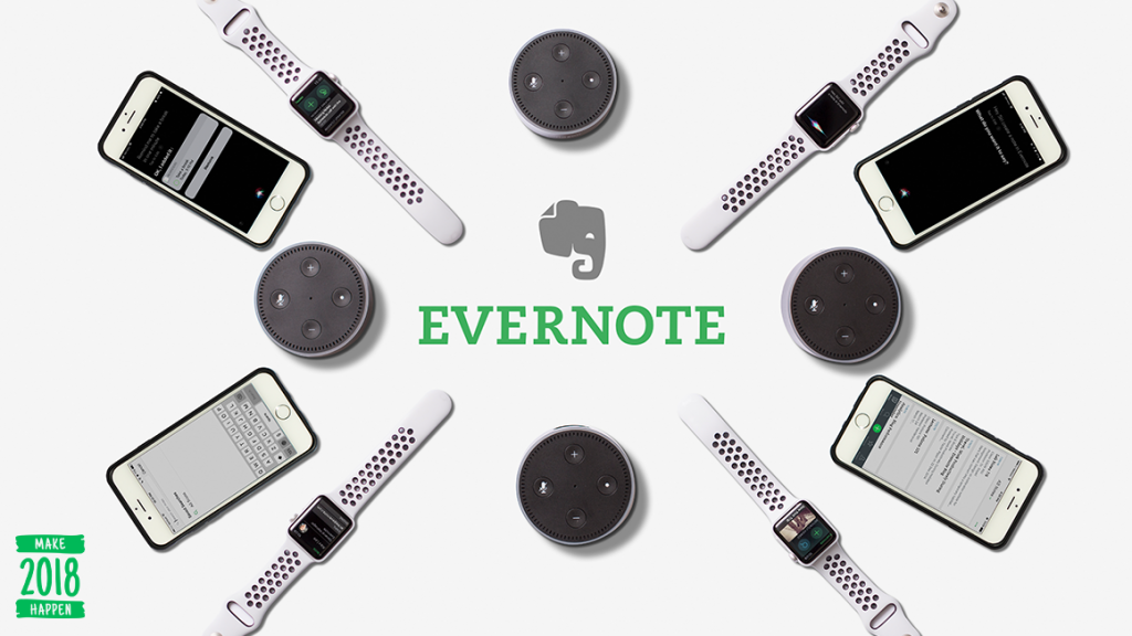 Ready, Set, Dictate How Evernote Works with Apple Watch